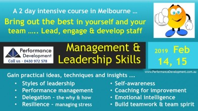 leadership training Melbourne